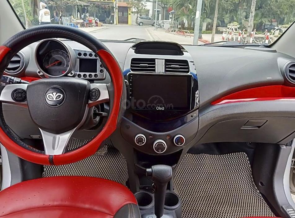 Cần bán gấp Daewoo Matiz sản xuất năm 2009, màu bạc, xe nhập (3)