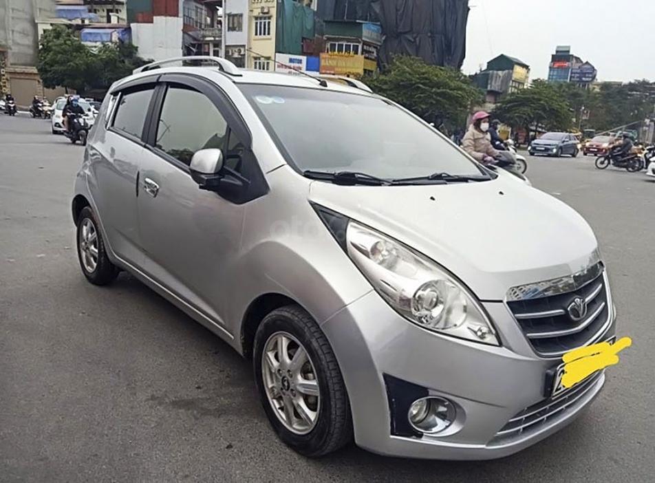 Cần bán gấp Daewoo Matiz sản xuất năm 2009, màu bạc, xe nhập (1)