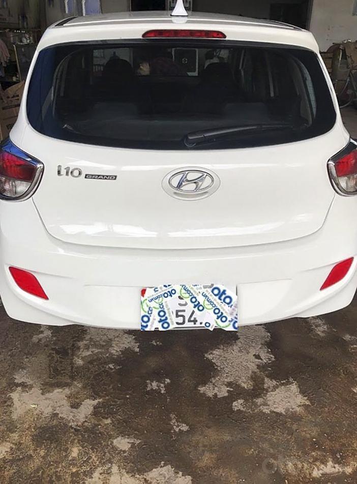 Cần bán xe Hyundai Grand i10 năm 2014, màu trắng (3)