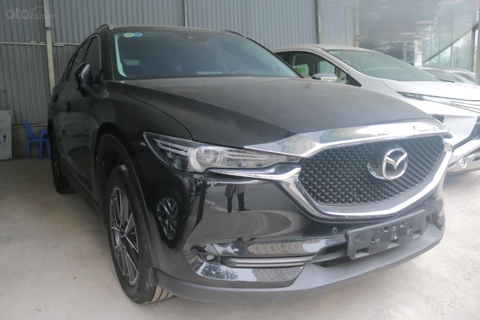 Bán ô tô Mazda CX 5 năm 2018, màu đen, giá chỉ 815 triệu (1)