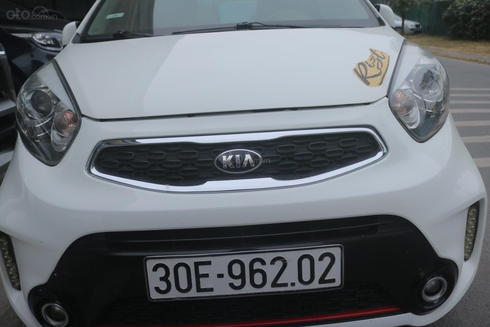 Xe Kia Morning 2015, màu trắng, 305 triệu (2)