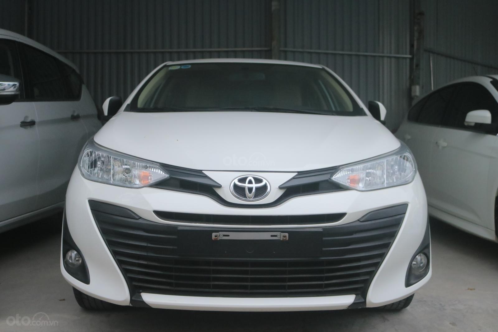 Xe Toyota Vios sản xuất năm 2019, màu trắng, STĐ (1)