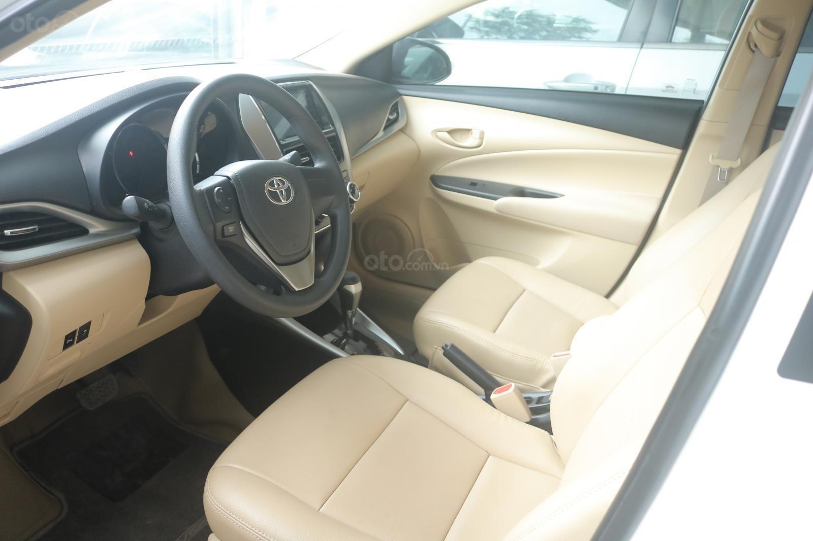 Xe Toyota Vios sản xuất năm 2019, màu trắng, STĐ (5)