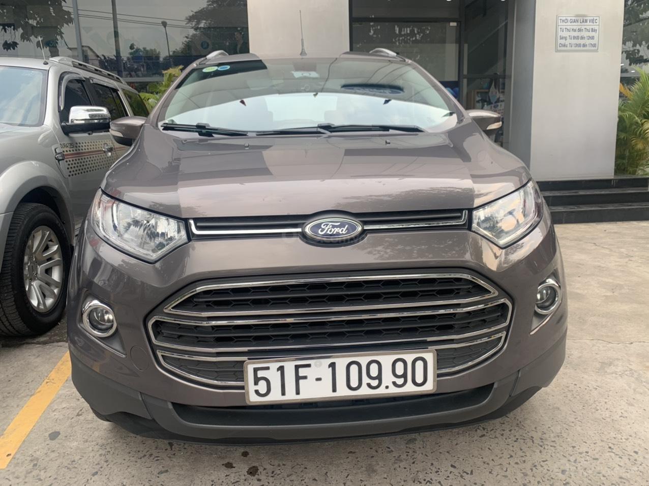 Ford Ecosport Titanium 2015,1 đời chủ chạy ít, bao test vay 70% (15)