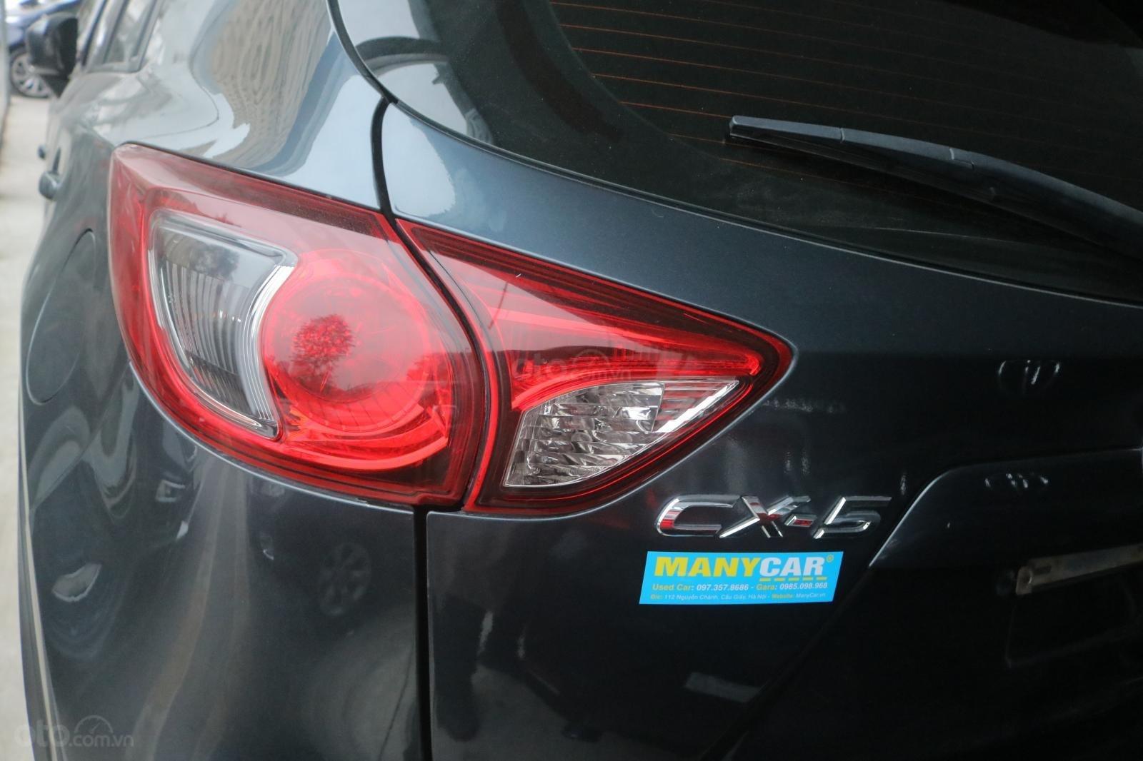 Bán Mazda CX 5 sản xuất 2015, màu xanh xám (2)