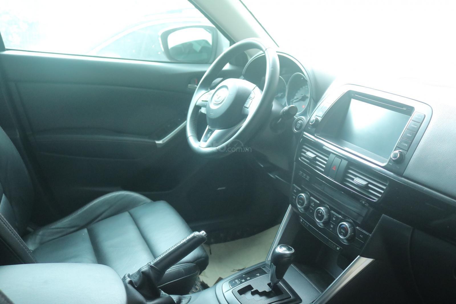 Bán Mazda CX 5 sản xuất 2015, màu xanh xám (3)