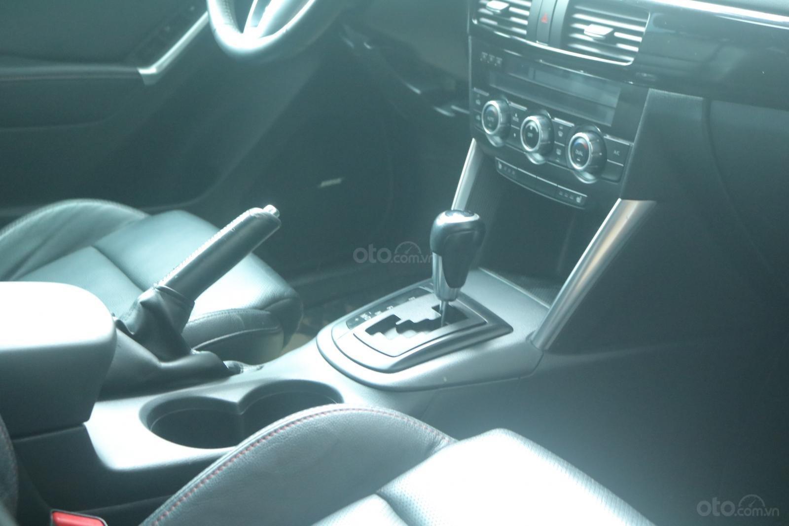 Bán Mazda CX 5 sản xuất 2015, màu xanh xám (5)
