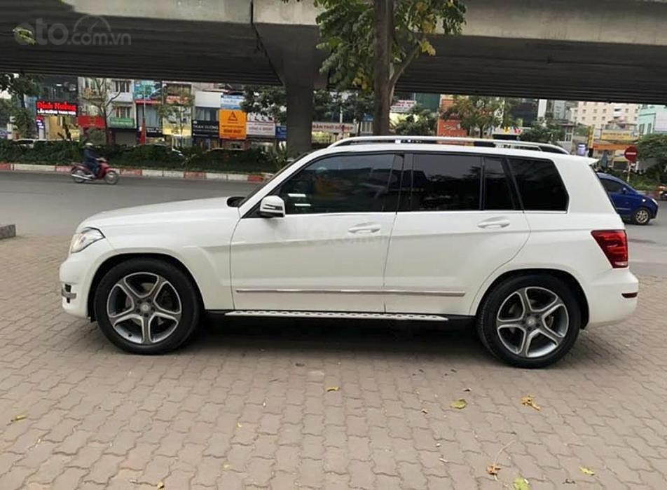 Bán Mercedes GLK220 năm 2014, màu trắng giá cạnh tranh (3)
