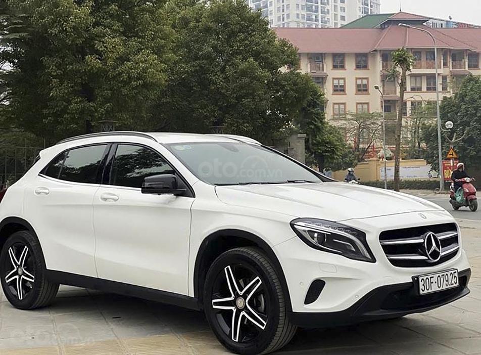 Bán Mercedes GLA200 sản xuất năm 2014, màu trắng, nhập khẩu nguyên chiếc, 848 triệu (1)