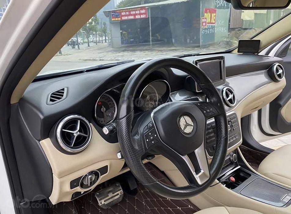 Bán Mercedes GLA200 sản xuất năm 2014, màu trắng, nhập khẩu nguyên chiếc, 848 triệu (3)