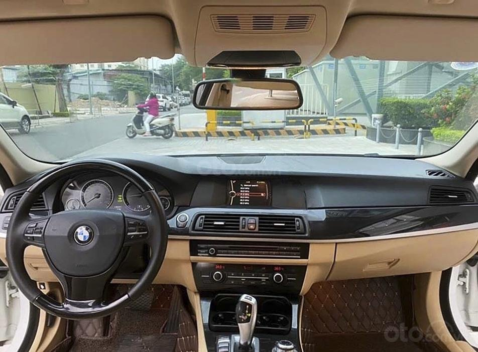 Bán ô tô BMW 5 Series 520i sản xuất 2013, màu trắng, nhập khẩu (4)