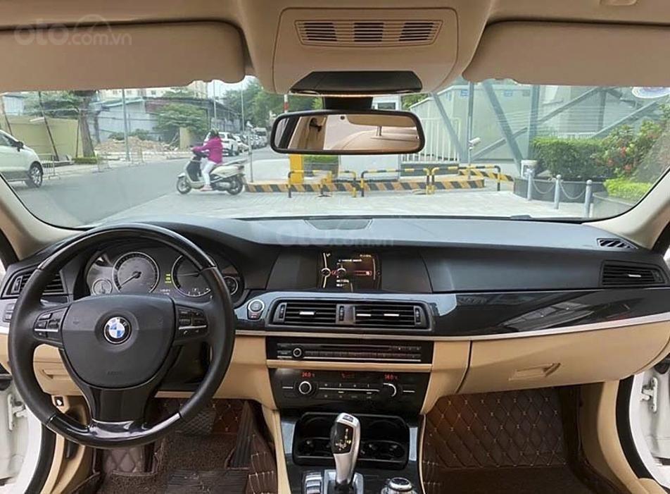 Bán xe BMW 5 Series 520i năm sản xuất 2013, màu trắng, nhập khẩu nguyên chiếc (3)