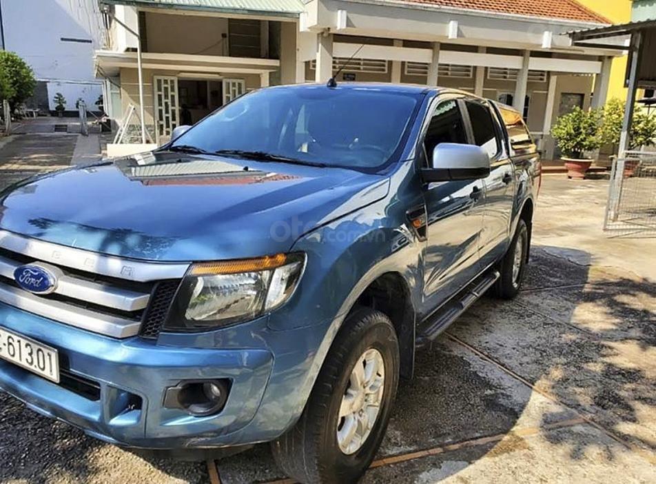 Bán ô tô Ford Ranger XLS MT năm sản xuất 2015, màu xanh lam, nhập khẩu (1)