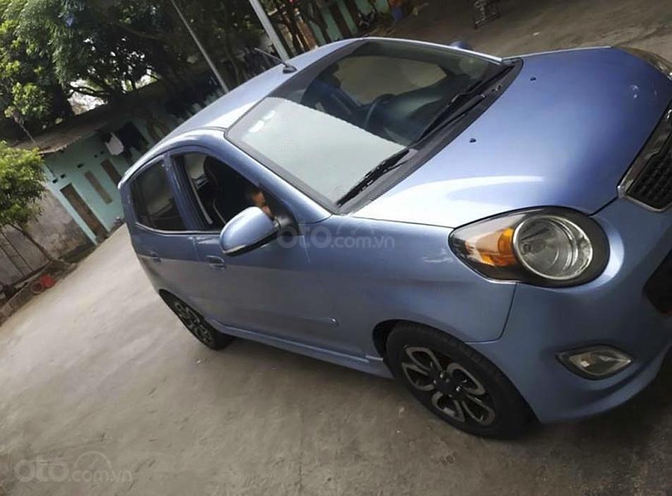 Bán Kia Morning SLX 1.0 AT sản xuất năm 2011, màu xanh lam, xe nhập (4)