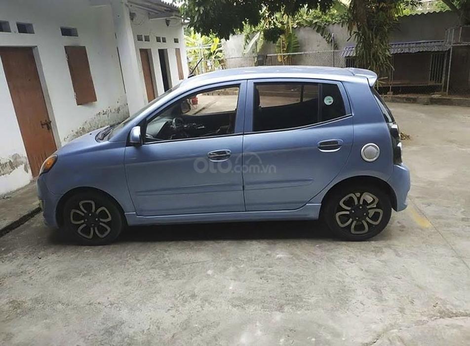 Bán Kia Morning SLX 1.0 AT sản xuất năm 2011, màu xanh lam, xe nhập (1)