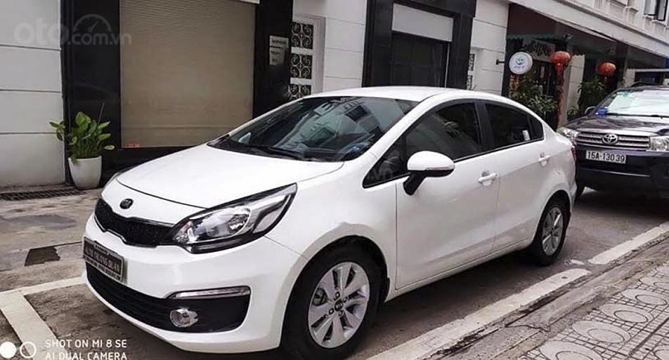 Bán xe Kia Rio 1.4 AT năm 2016, màu trắng, nhập khẩu nguyên chiếc giá cạnh tranh (1)