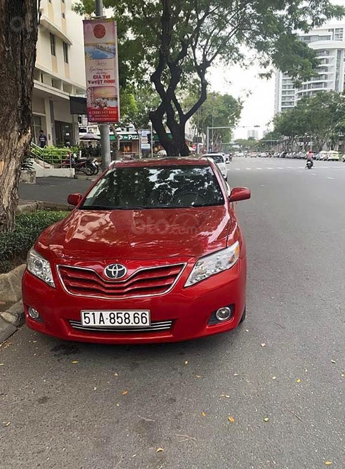 Cần bán Toyota Camry LE 2.5 sản xuất năm 2009, màu đỏ, nhập khẩu nguyên chiếc (1)