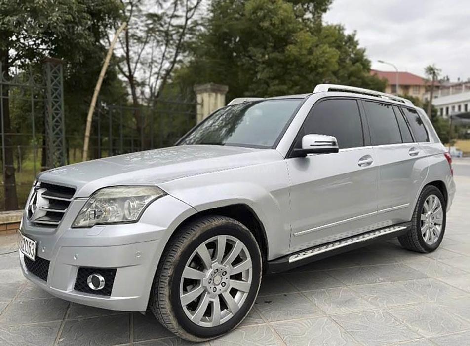 Bán Mercedes GLK300 4Matic năm sản xuất 2009, màu bạc, giá chỉ 550 triệu (1)