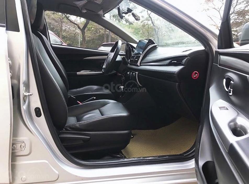 Bán Toyota Vios G sản xuất 2014, màu bạc, xe còn mới (2)