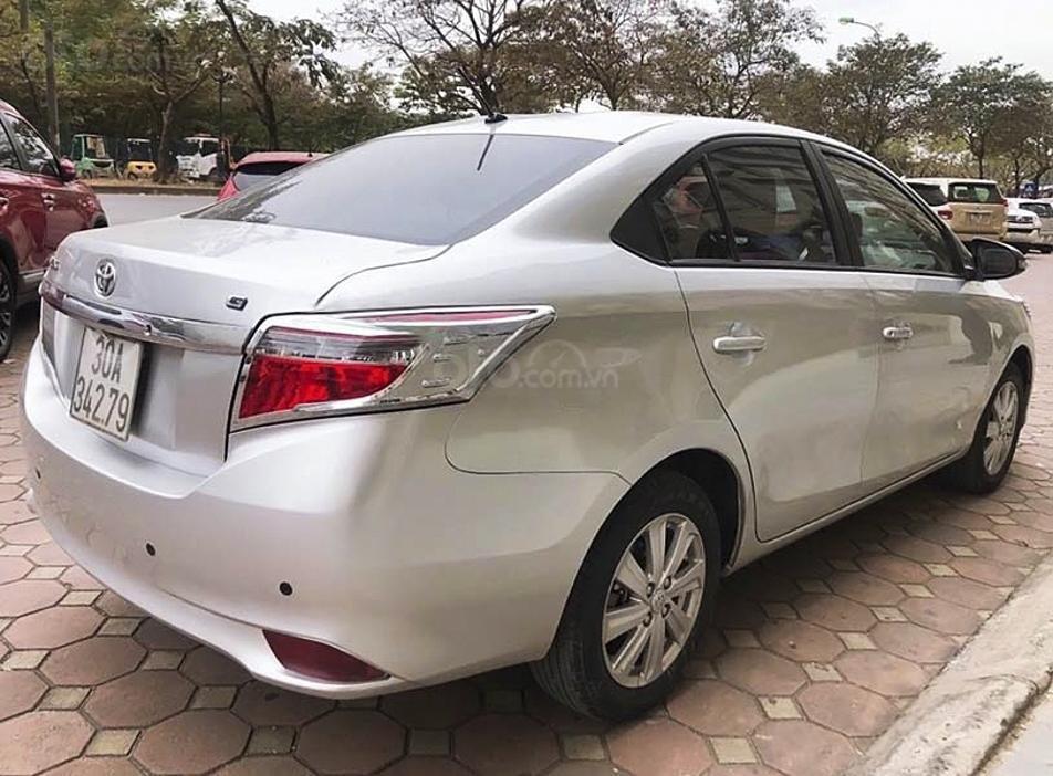 Bán Toyota Vios G sản xuất 2014, màu bạc, xe còn mới (4)
