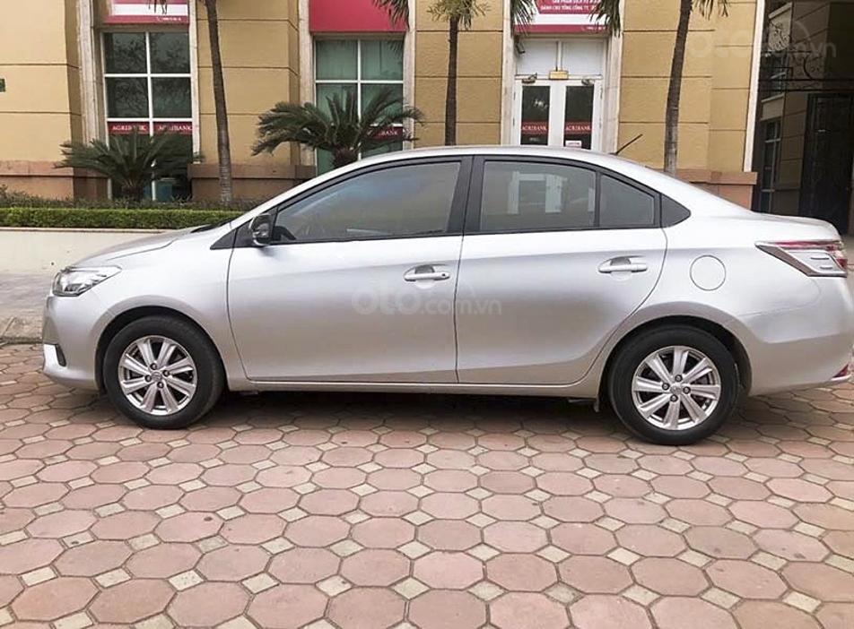Bán Toyota Vios G sản xuất 2014, màu bạc, xe còn mới (3)