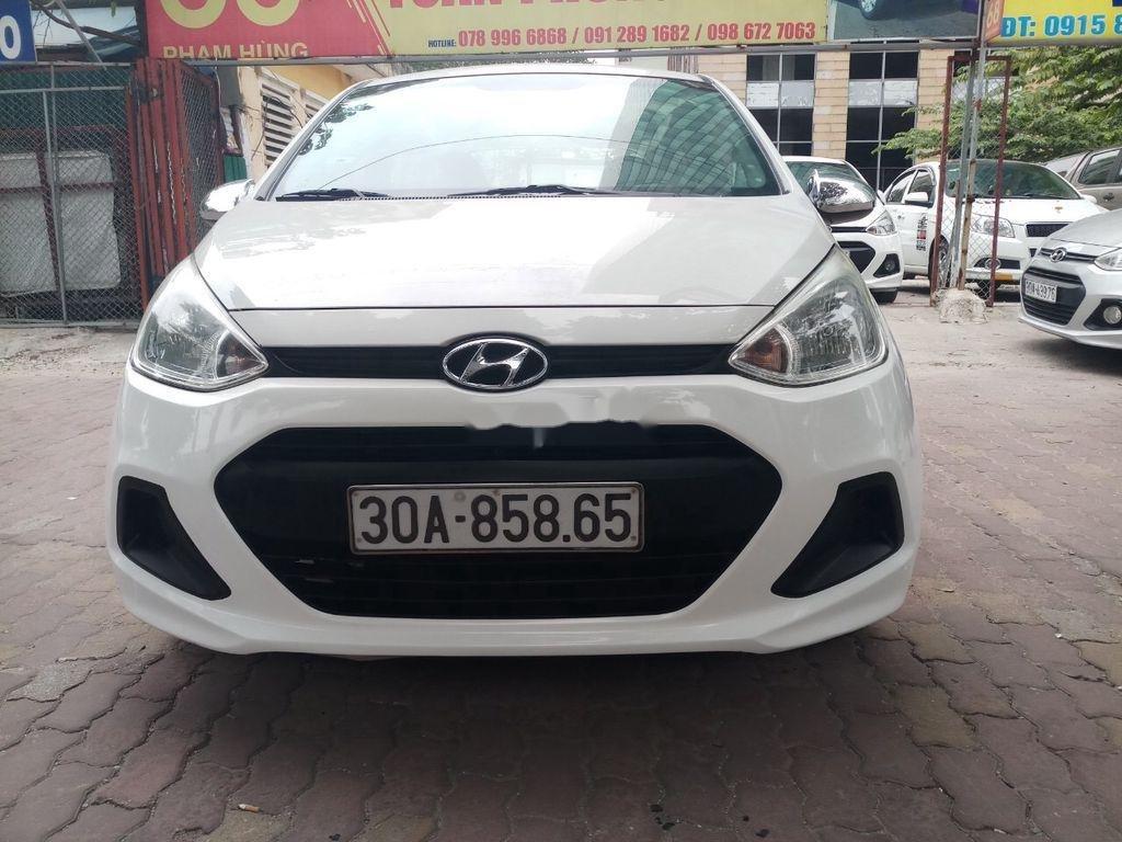 Bán Hyundai Grand i10 năm 2015, màu trắng, nhập khẩu nguyên chiếc (8)