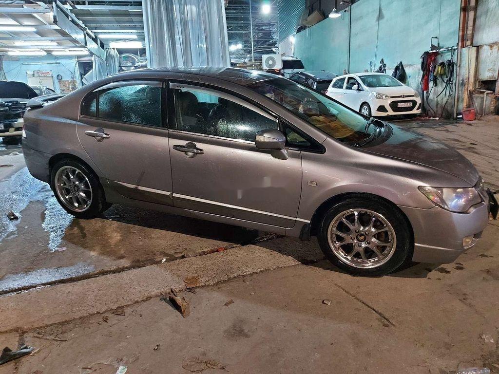 Bán Honda Civic năm sản xuất 2007, màu xám (6)