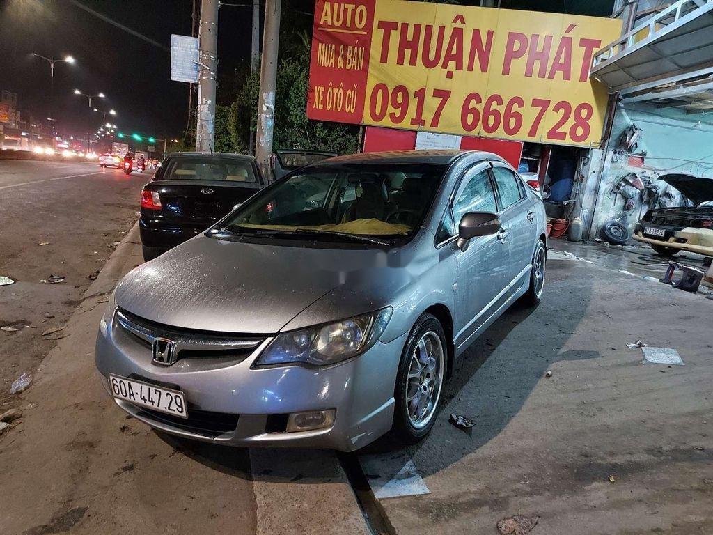Bán Honda Civic năm sản xuất 2007, màu xám (5)