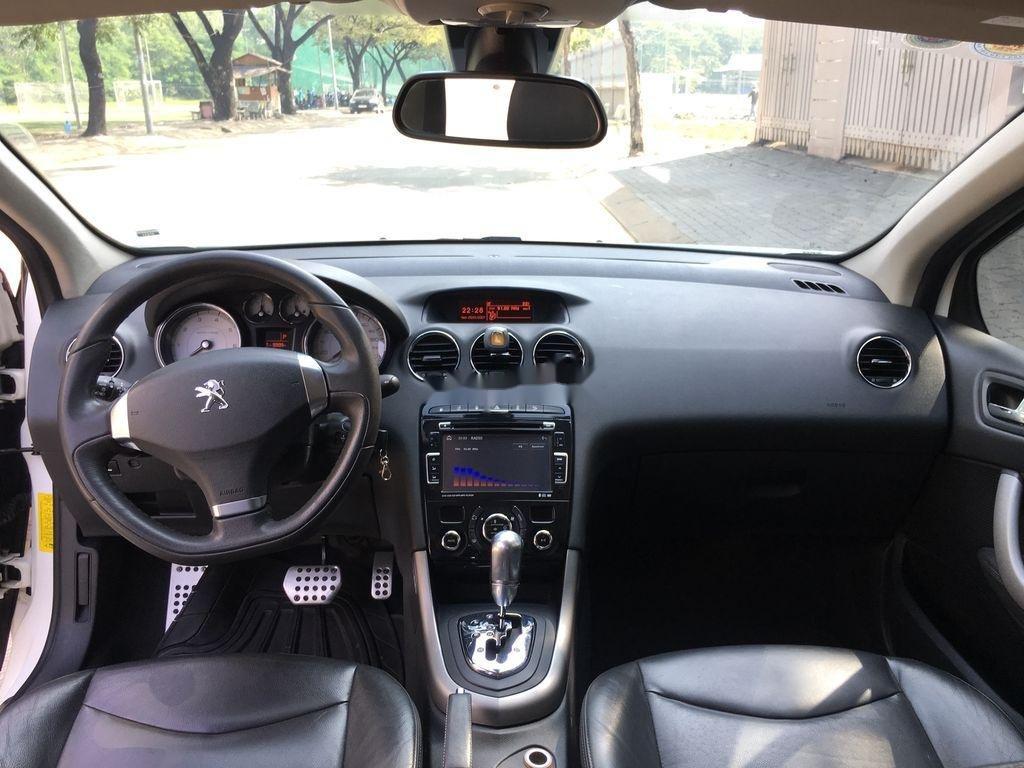 Cần bán lại xe Peugeot 408 sản xuất 2014, màu trắng ít sử dụng (8)