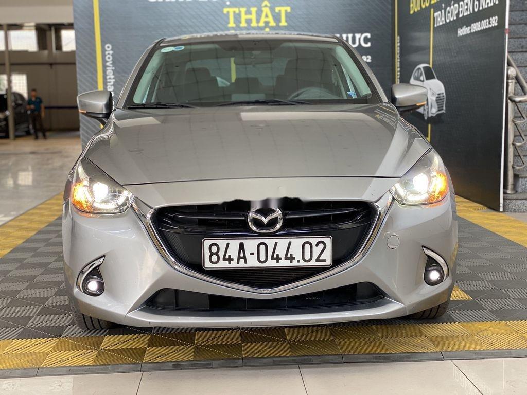 Bán Mazda 2 năm 2018, màu xám, nhập khẩu số tự động (1)