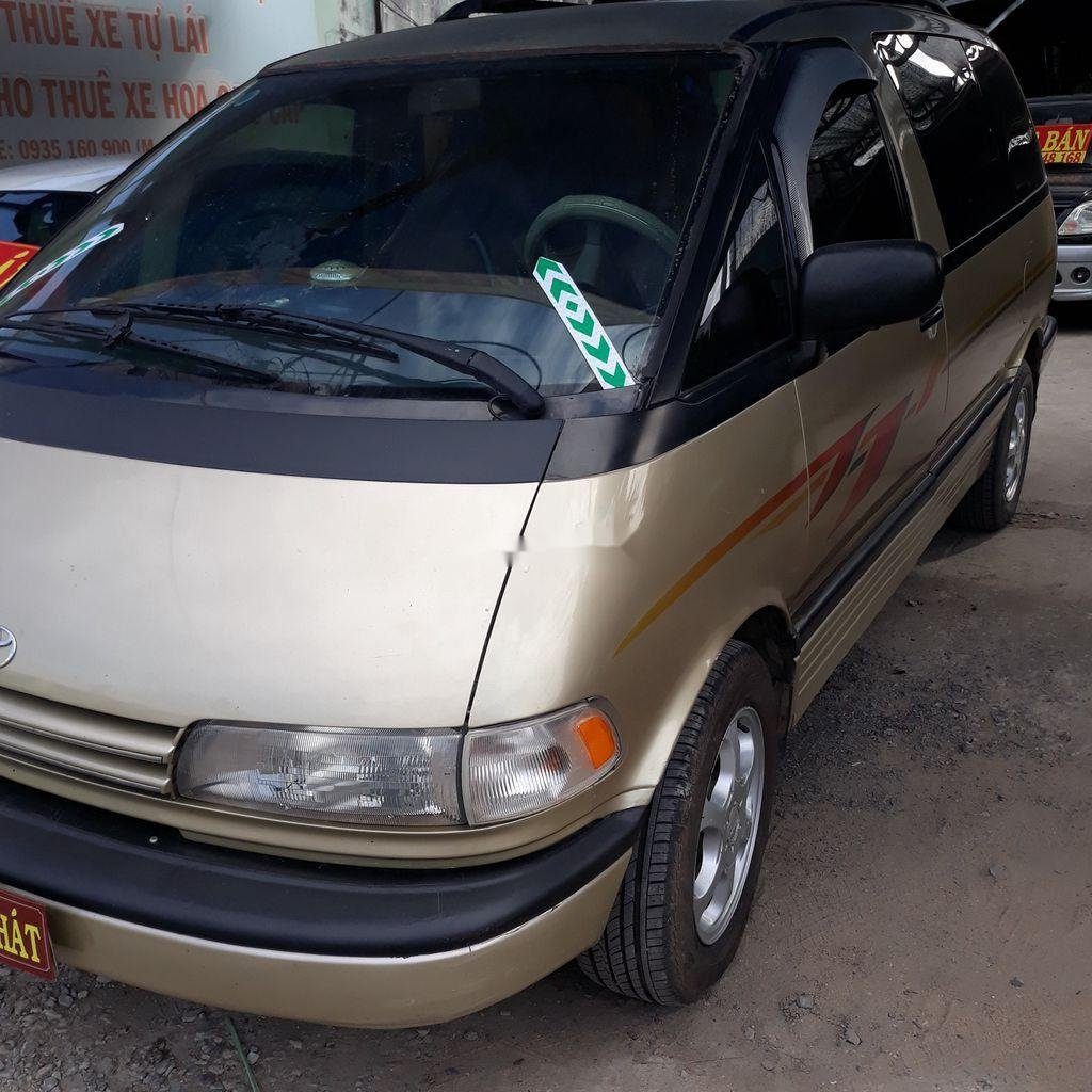 Cần bán lại xe Toyota Previa đời 1992, nhập khẩu nguyên chiếc (1)