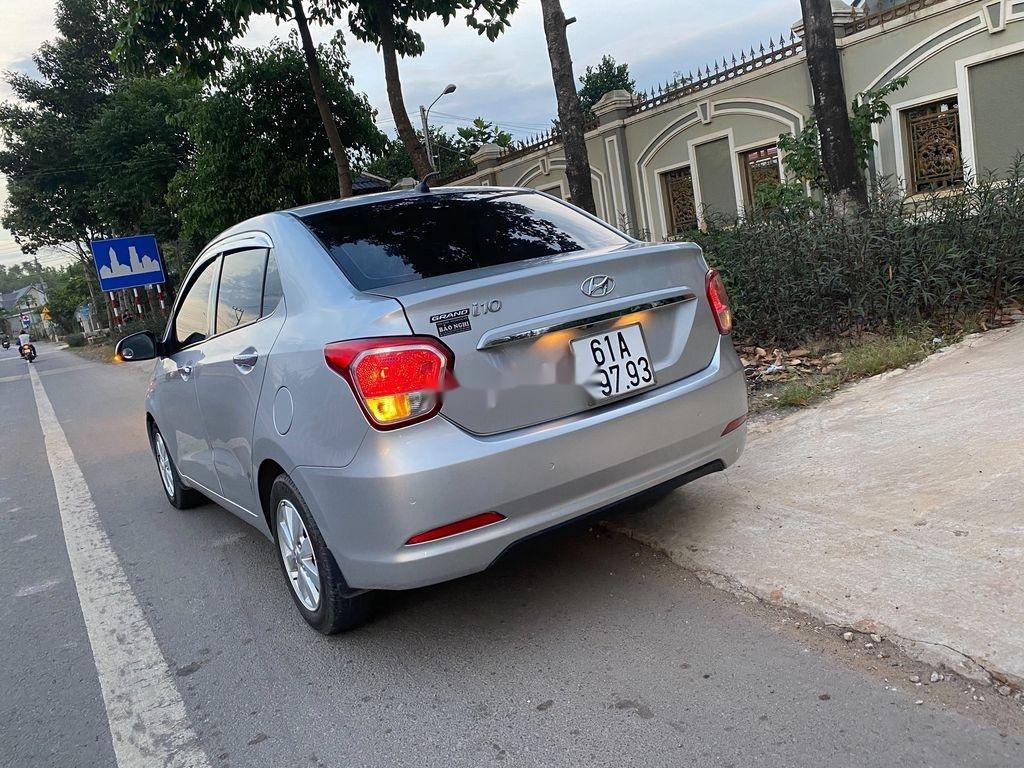 Cần bán xe Hyundai Grand i10 đời 2016, màu bạc, xe nhập  (4)