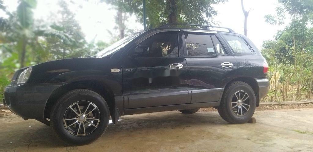 Bán ô tô Hyundai Santa Fe đời 2003, màu đen chính chủ (1)