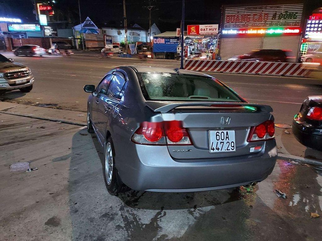 Bán Honda Civic năm sản xuất 2007, màu xám (7)