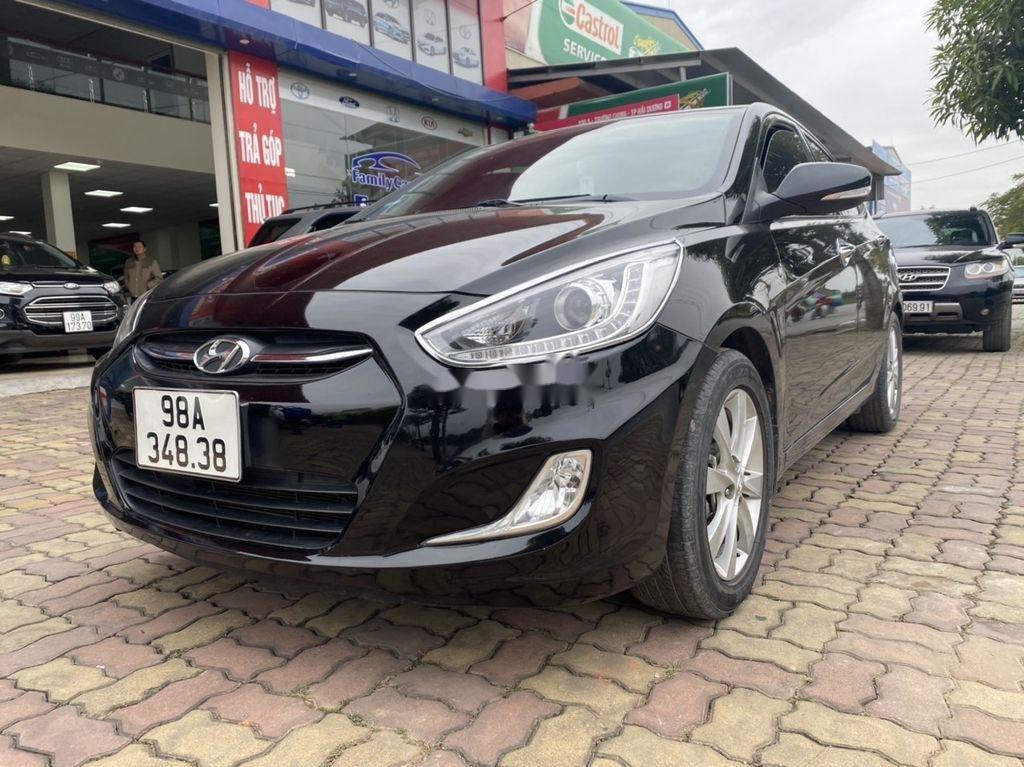 Bán Hyundai Accent đời 2016, màu đen, nhập khẩu  (2)