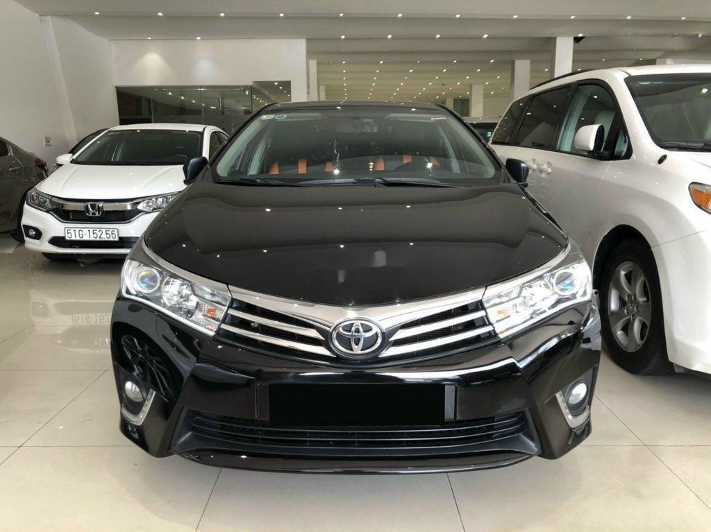 Cần bán xe Toyota Corolla Altis sản xuất 2017, màu đen (7)