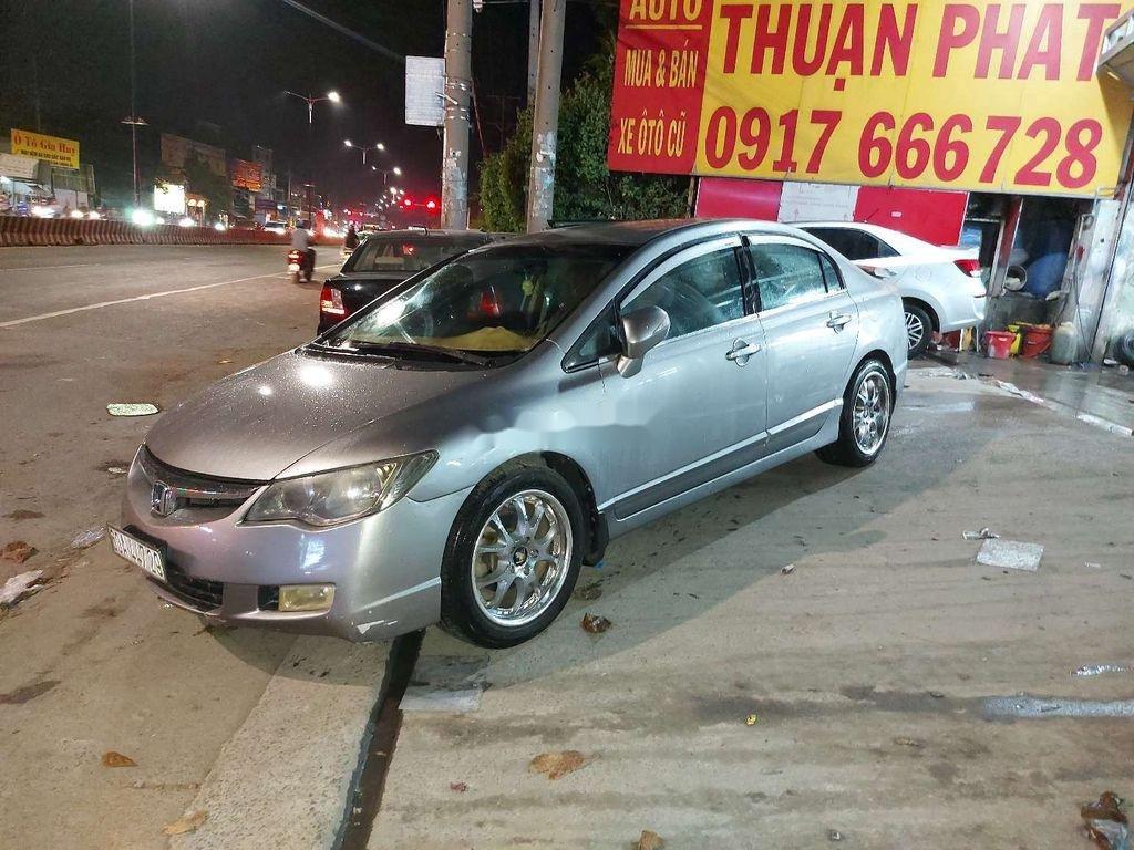 Bán Honda Civic năm sản xuất 2007, màu xám (2)