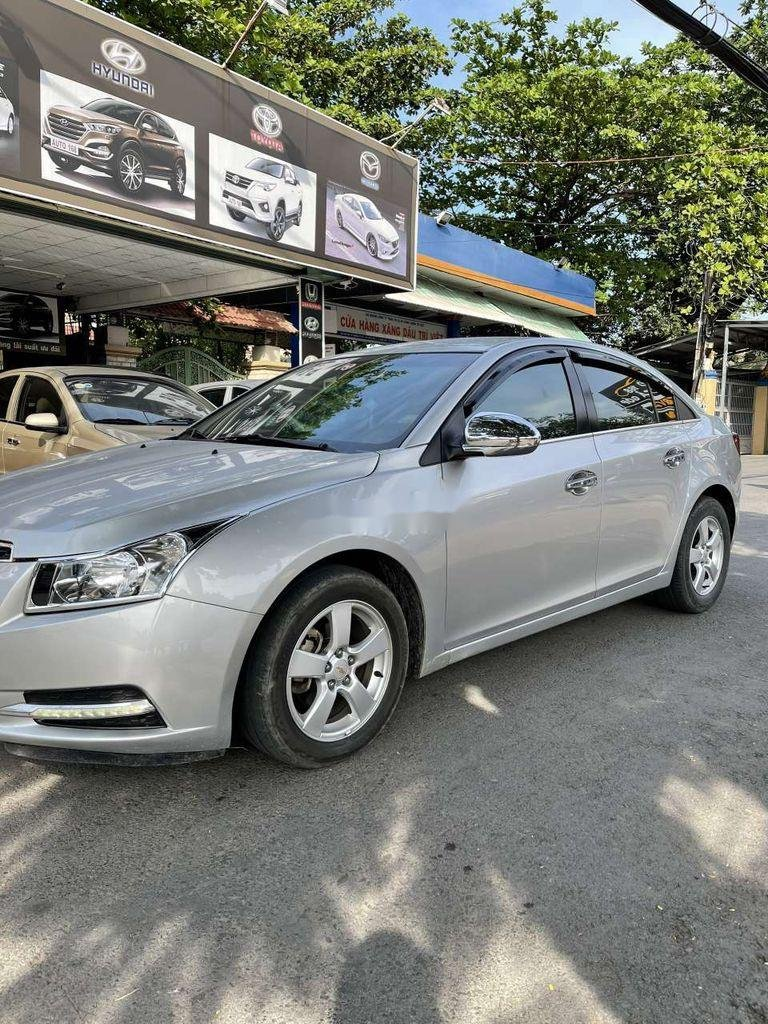 Bán Chevrolet Cruze đời 2012, màu bạc, nhập khẩu (3)