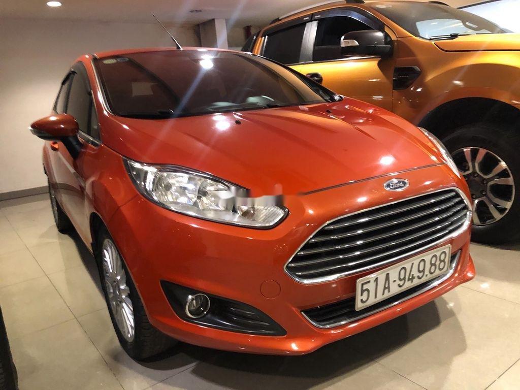 Bán ô tô Ford Fiesta đời 2014, xe nhập, màu cam (3)