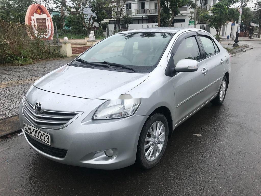 Bán ô tô Toyota Vios năm sản xuất 2011, màu bạc ít sử dụng (2)
