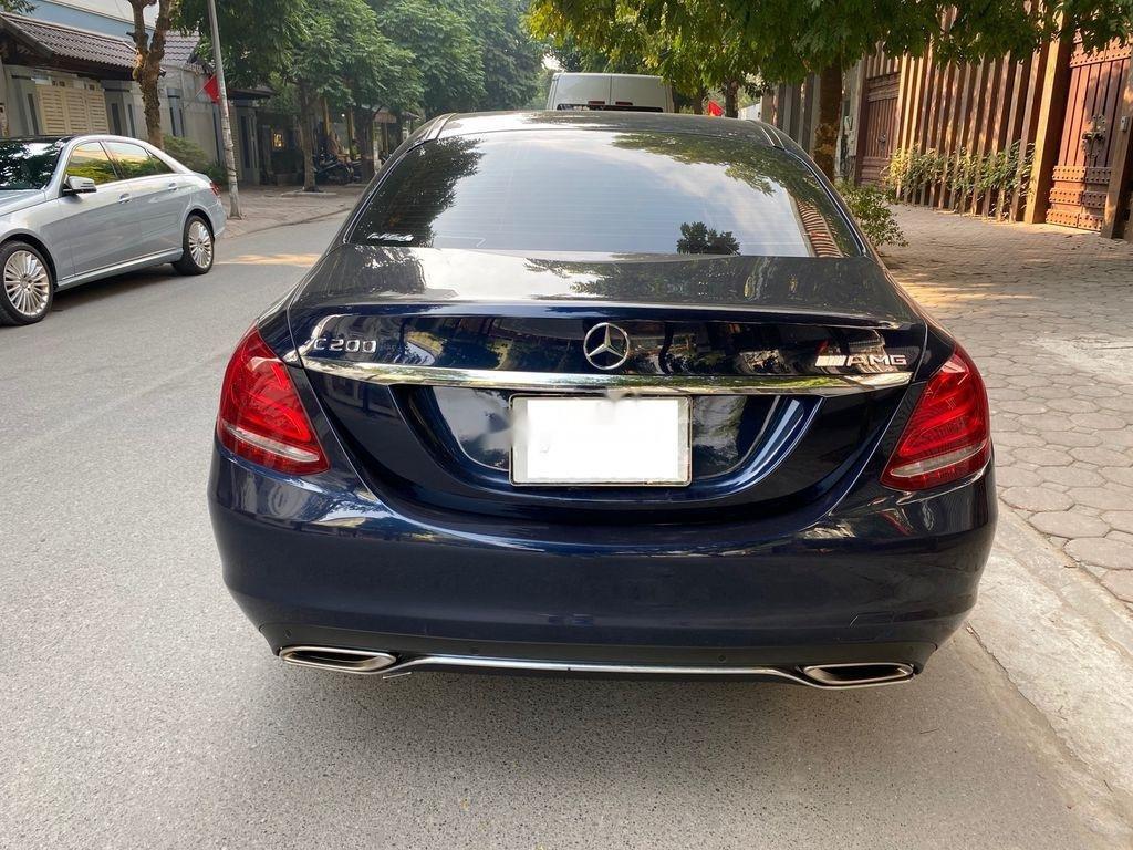 Bán Mercedes C200 đời 2015, màu xanh lam chính chủ, 950 triệu (11)