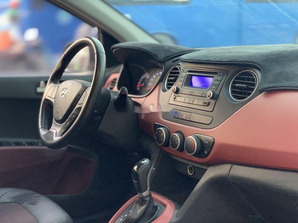 Bán xe Hyundai Grand i10 đời 2015, màu bạc, nhập khẩu  (11)