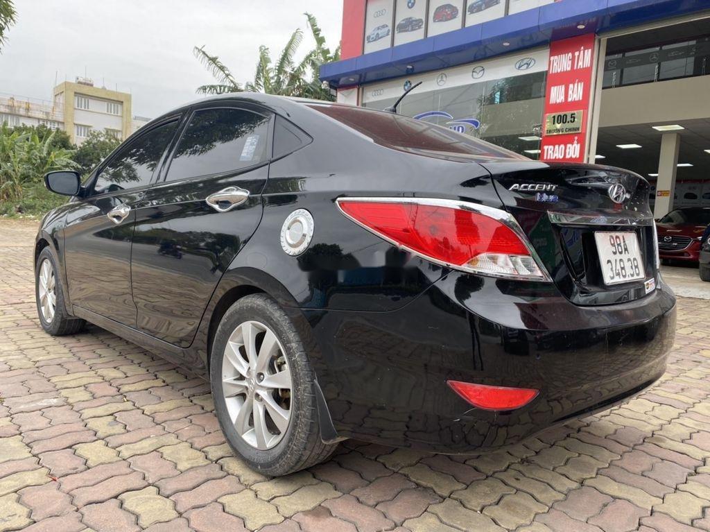 Bán Hyundai Accent đời 2016, màu đen, nhập khẩu  (4)