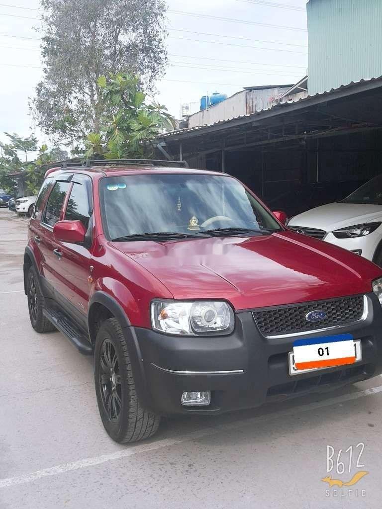 Cần bán lại xe Ford Escape năm sản xuất 2002, xe nhập còn mới, giá 155tr (1)