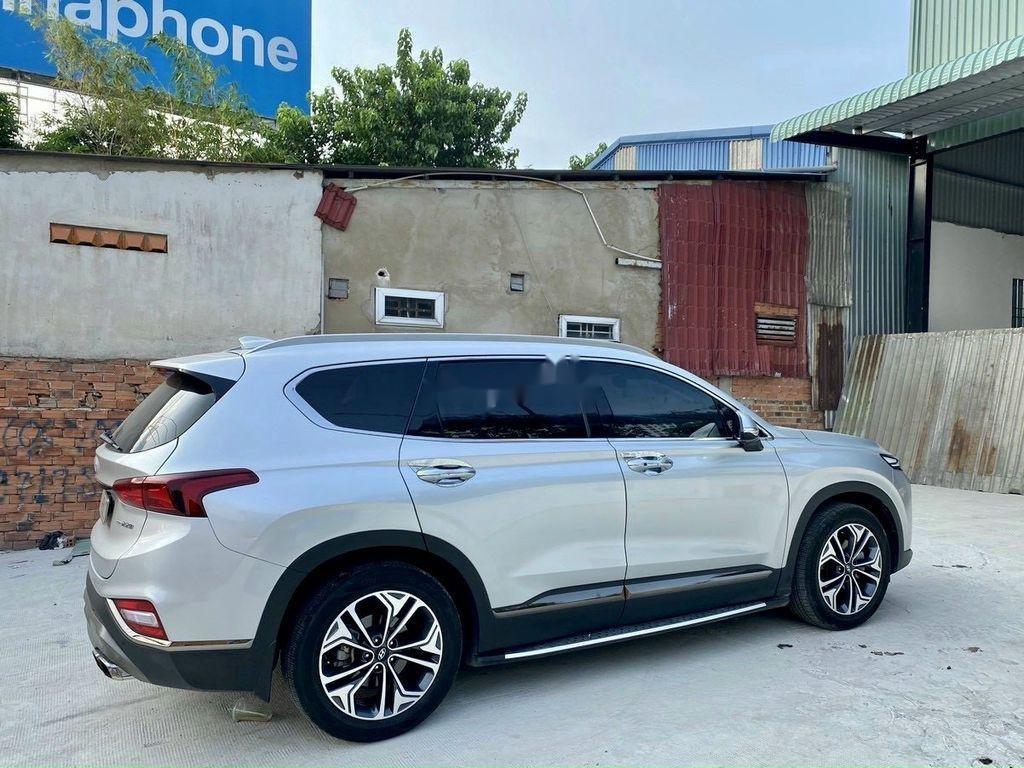 Cần bán gấp Hyundai Santa Fe 2019, màu bạc (6)