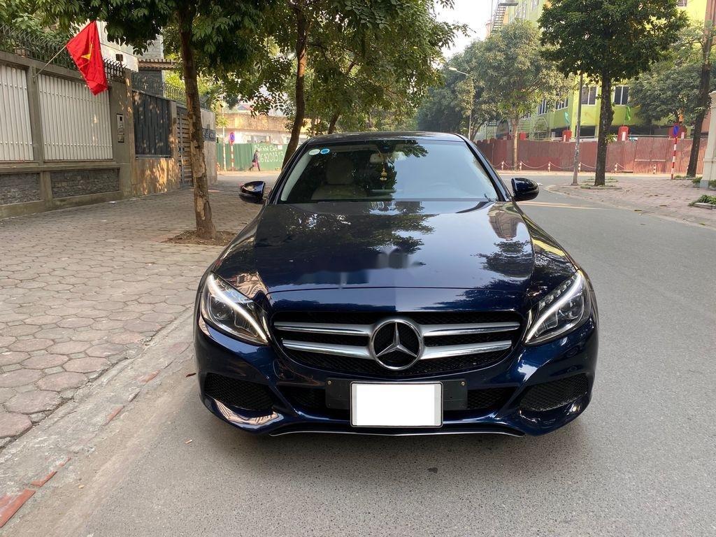Bán Mercedes C200 đời 2015, màu xanh lam chính chủ, 950 triệu (1)