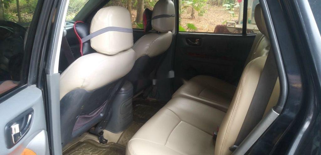 Bán ô tô Hyundai Santa Fe đời 2003, màu đen chính chủ (5)