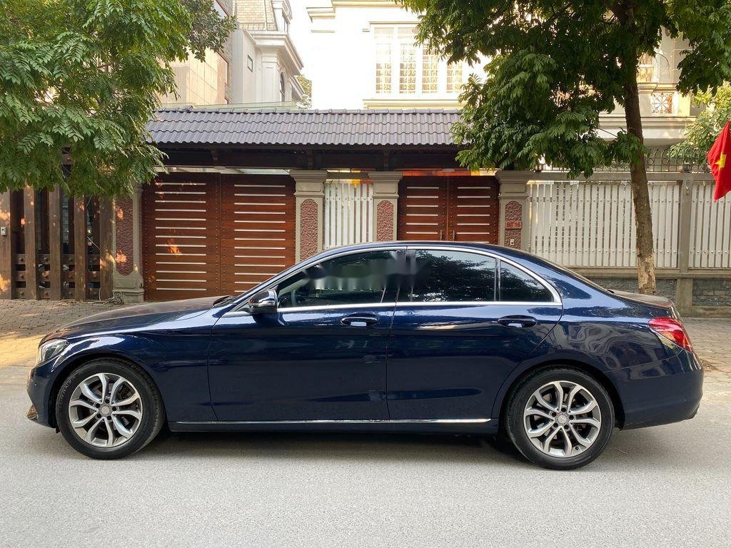 Bán Mercedes C200 đời 2015, màu xanh lam chính chủ, 950 triệu (3)