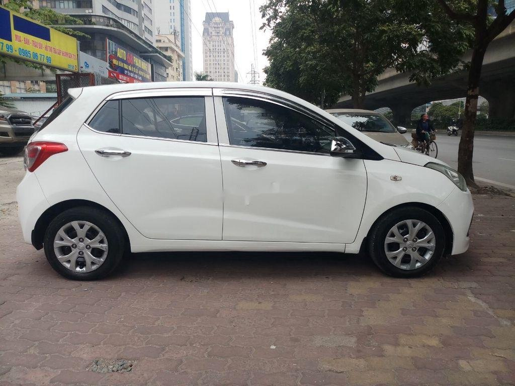 Bán Hyundai Grand i10 năm 2015, màu trắng, nhập khẩu nguyên chiếc (10)