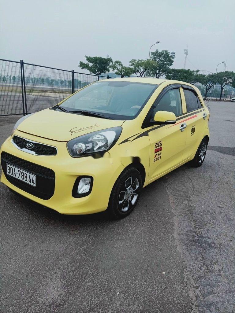Xe Kia Morning năm 2015, màu vàng (4)